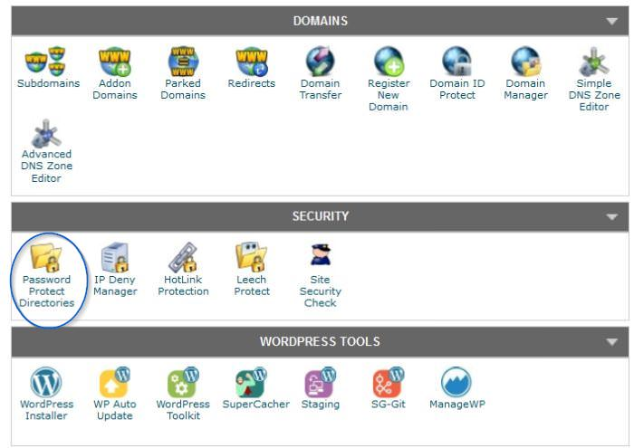Password Protection in cPanel