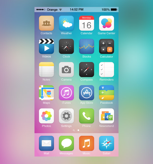 iOS7 Icons by Michael Shanks