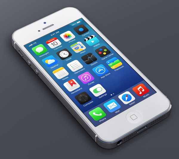 iOS7 Redesign by Michael Boswell