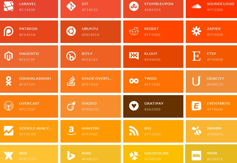 Simple Icons: A Collection of SVG Web Icons
