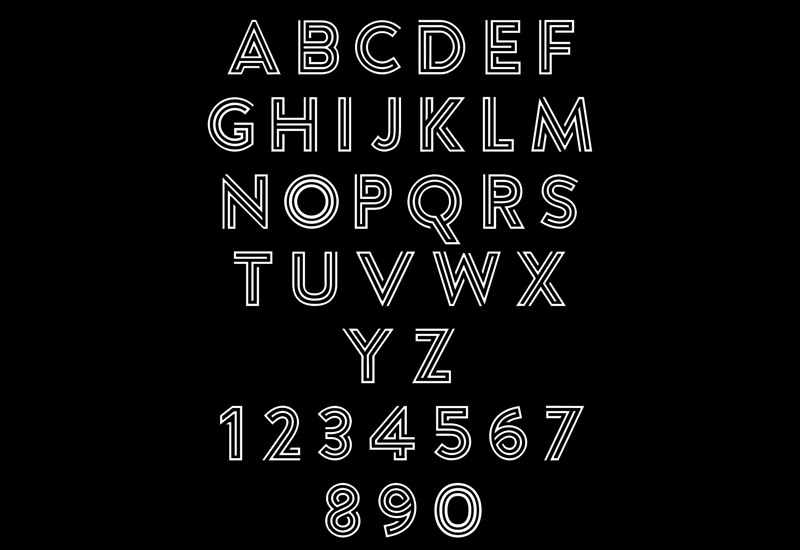 Argon: Uppercase Display Typeface