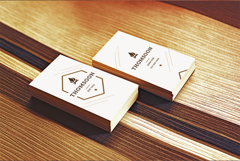 9 Business Cards Mockups Pack
