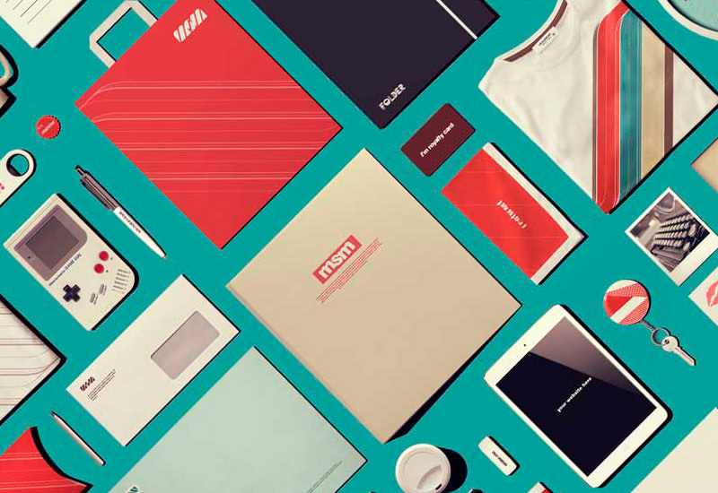 Retro Stationery Mock-up on Behance