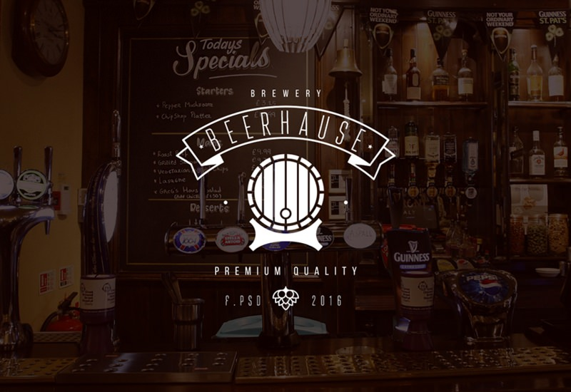 Beerhause: Cool Public Bar Website Template