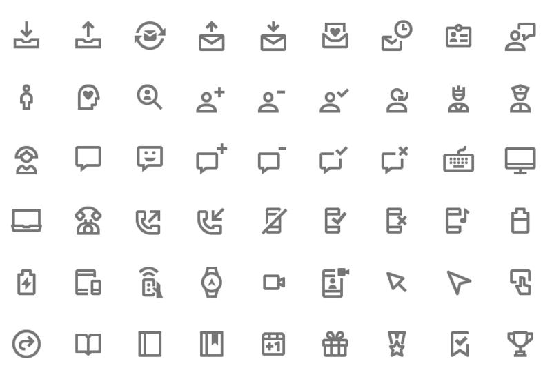 350 Free Outline & Solid Icons