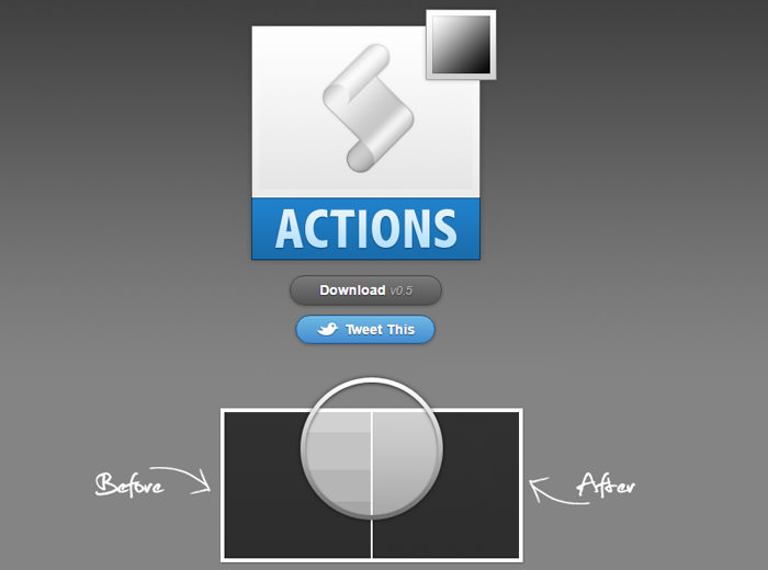 no more banding photoshop action