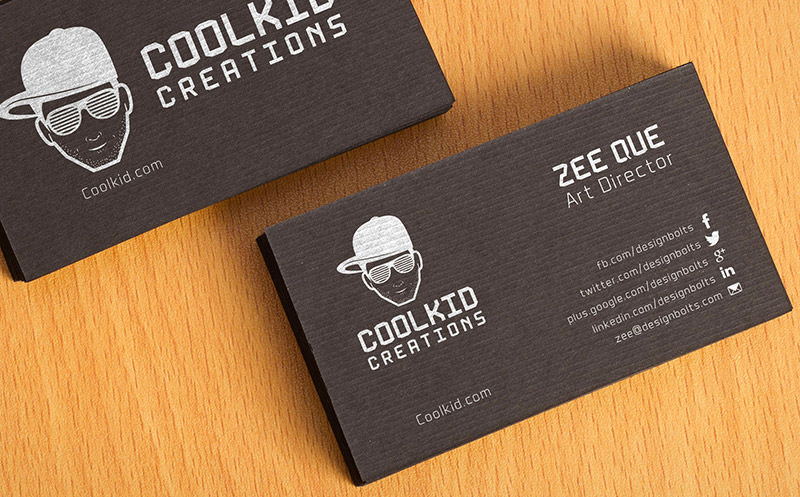 Textured Business Card Mockups