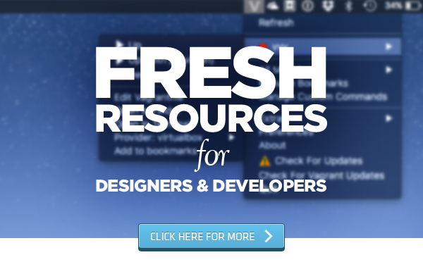 fresh resources for web developers