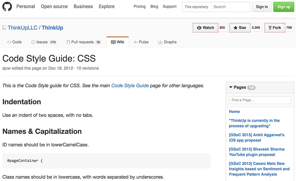 ThinkUp's Style Guide