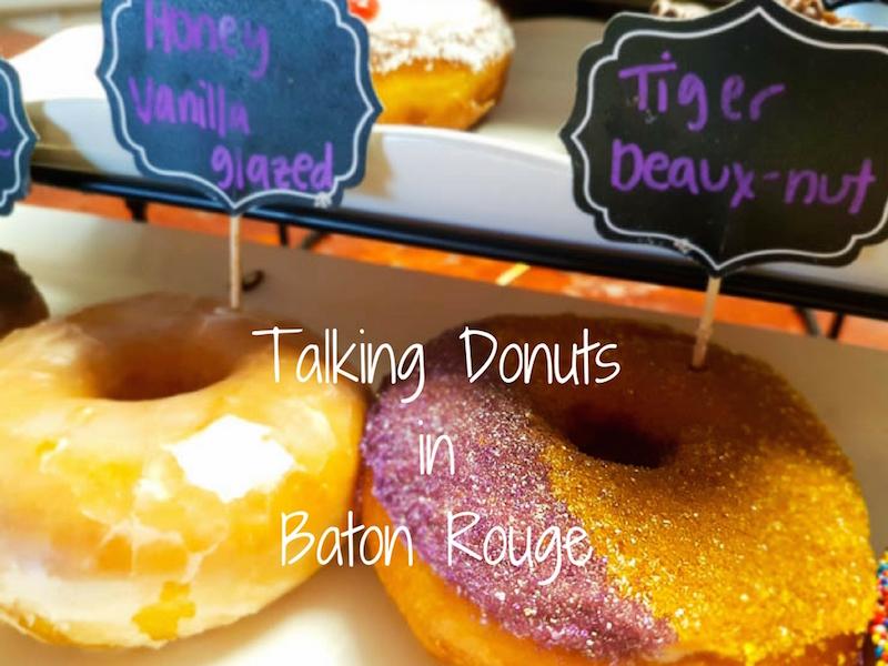 Tiger Deaux-Nuts Baton Rouge