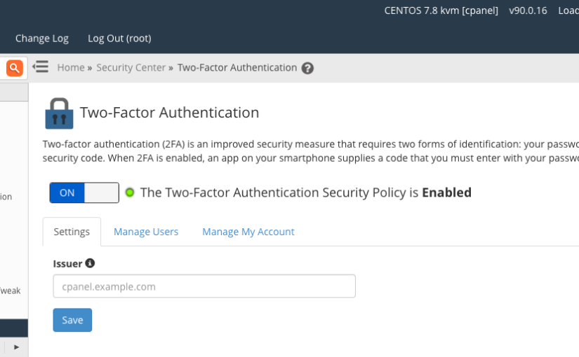 How to Configure and Use Two-Factor Authentication in cPanel