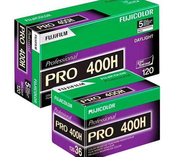 Fujicolor PRO 400H film discontinued