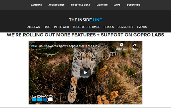 GoPro Labs launches firmware program