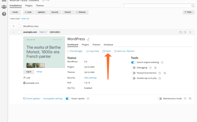 How to Deploy a WordPress® Staging Site With cPanel
