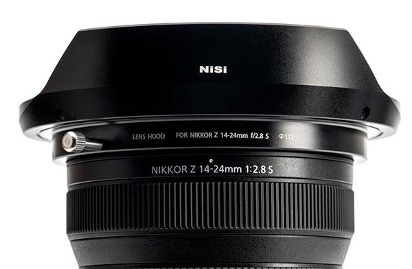 New NiSi lens hood for Nikon Z 14-24mm lens